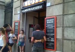 Kiosko, hamburguesería en Barcelona