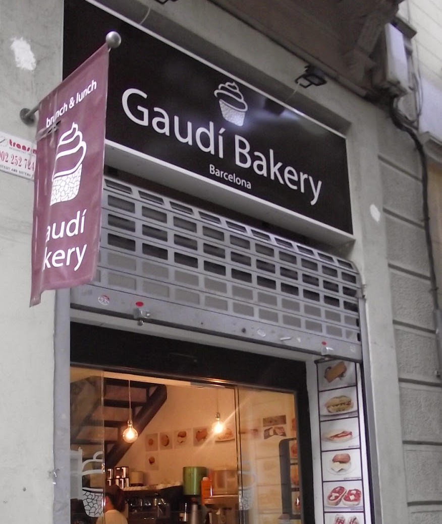 Gaudi Bakery, brunch y comida en Barcelona