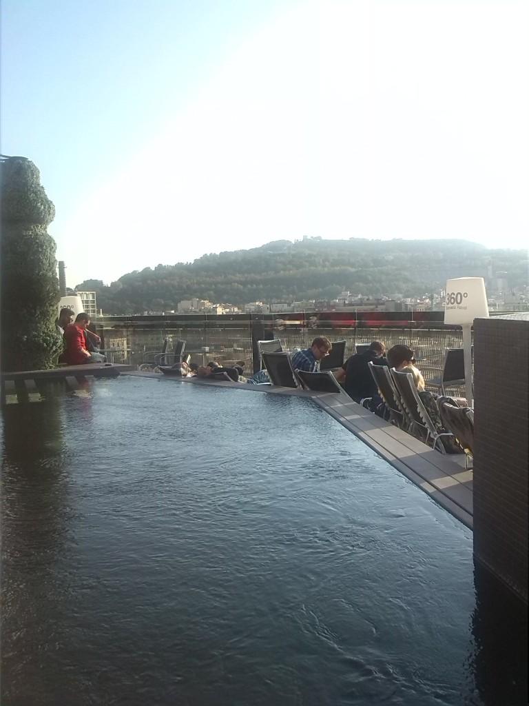 Barcelo Raval - vistas terraza