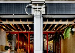 Restaurante de hamburguesas Oval