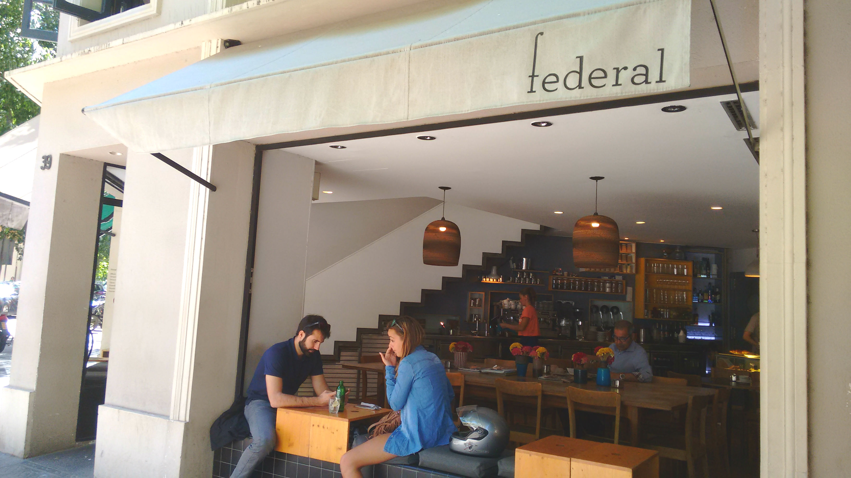 La Federal café
