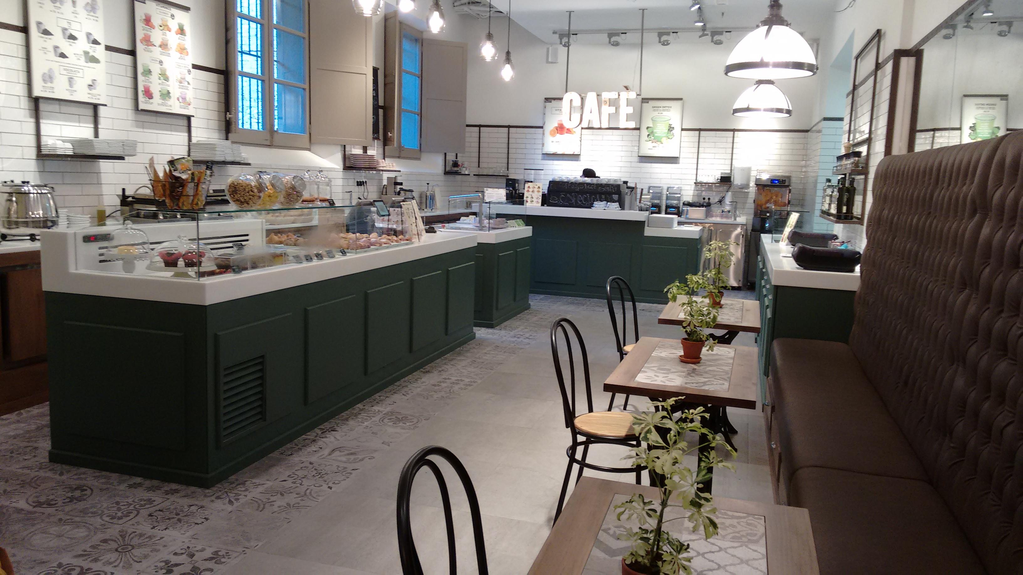 Café en el centro de Barcelona, Faborit