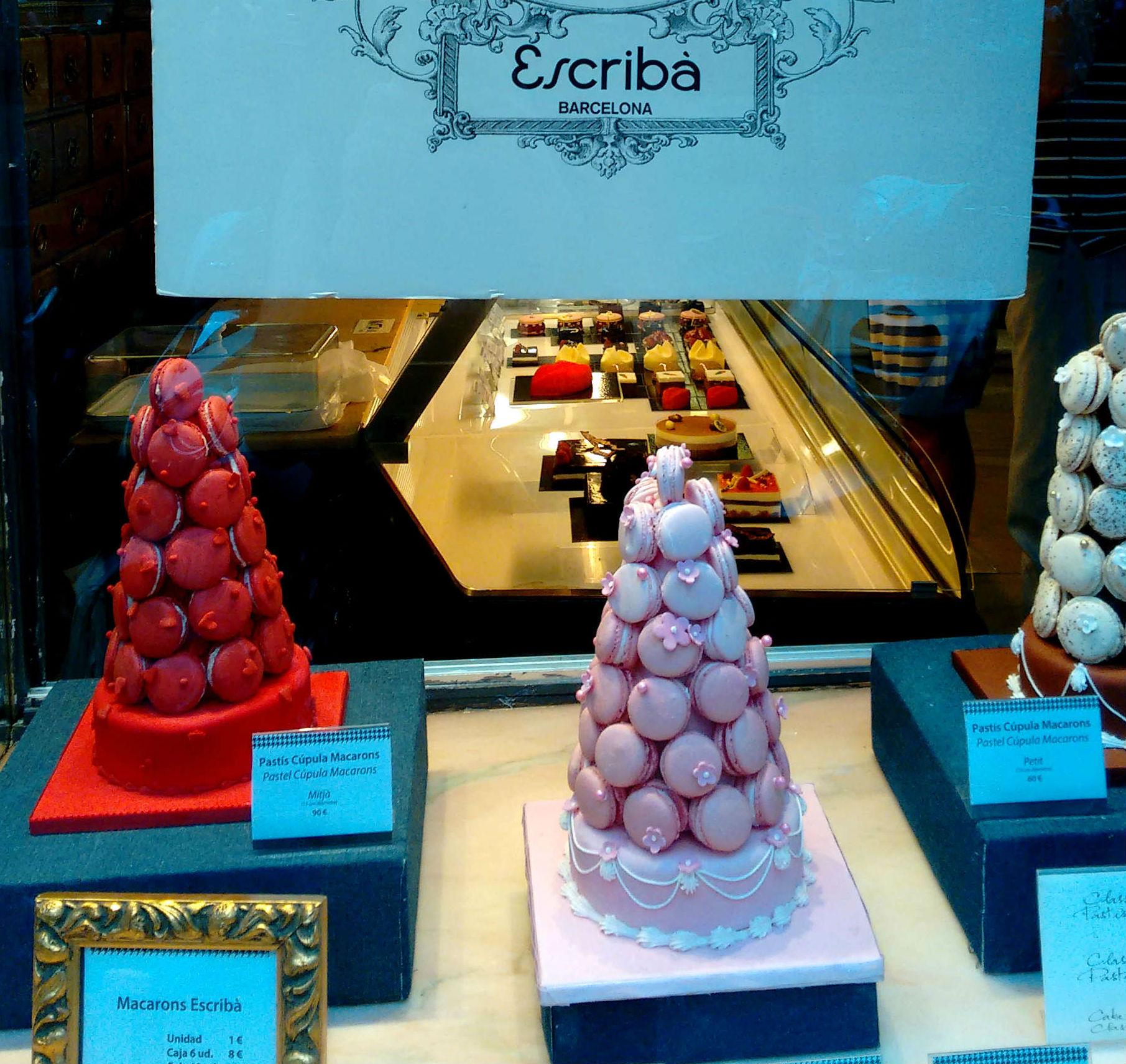 Pastelería Escribà Barcelona