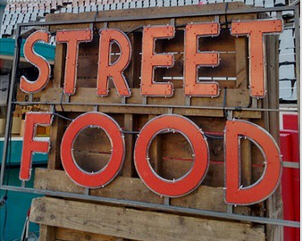 Street Food Van Van Market