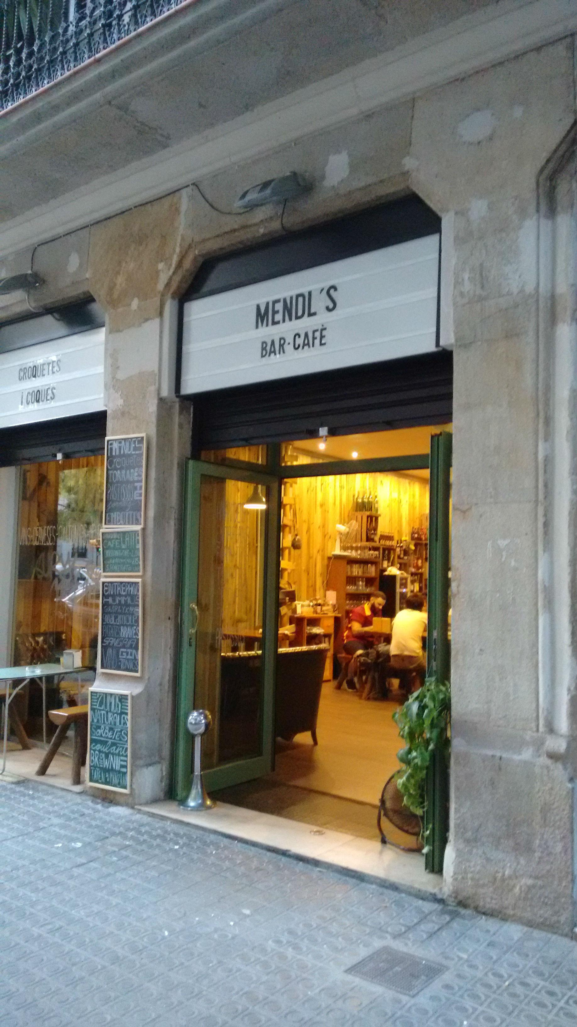 Mendl's cafetería bar